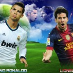 Christiano Ronaldo vs Leonel Messi!