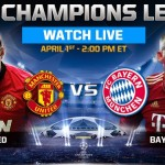 Manchester United vs Bayern Munich live