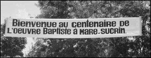 Centenaire de l'Œuvre baptiste de la Gonâve (1914-2014)