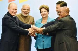 Les Chefs d'État BRICS