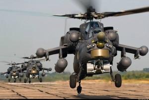 Hélicoptères d'attaque russe